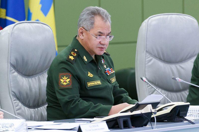 Глава Минобороны Сергей Шойгу.