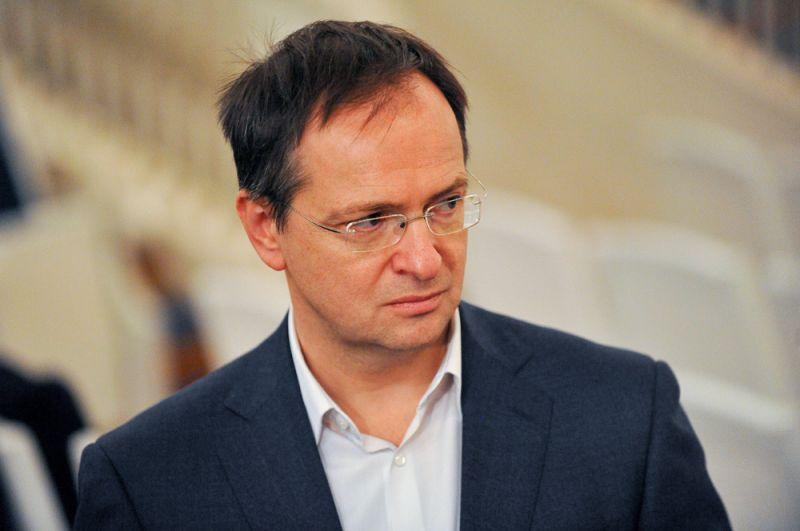 Министр культуры Владимир Мединский.