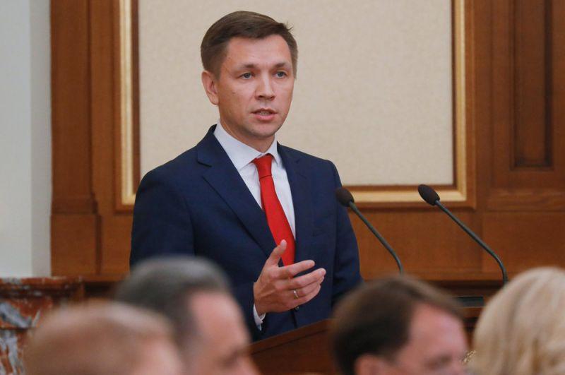 Министр цифрового развития, связи и массовых коммуникаций Константин Носков.
