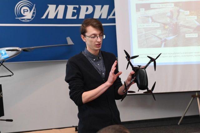 В Киеве разработали первый отечественный военный квадрокоптер