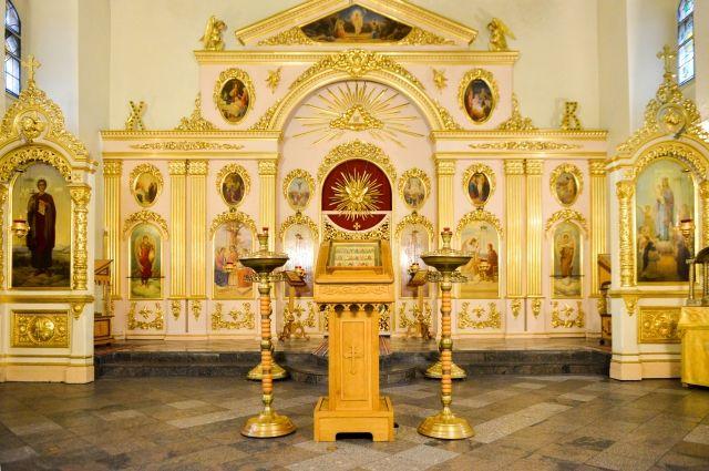 Из кафедрального собора Ижевска пытались украсть икону