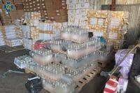 В Одессе СБУ блокировала механизм сбыта контрафактного алкоголя