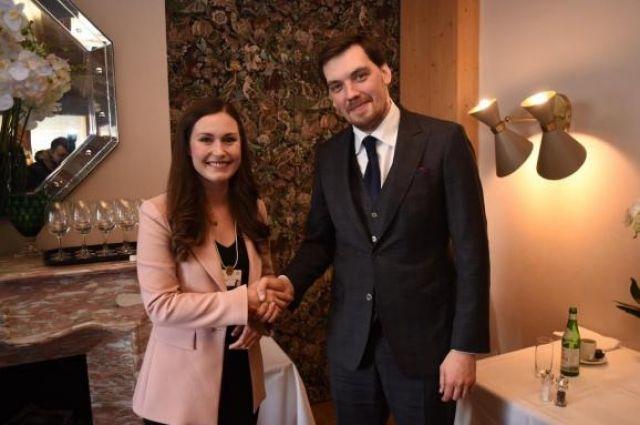 В Давосе встретились два самых молодых премьер-министра в мире