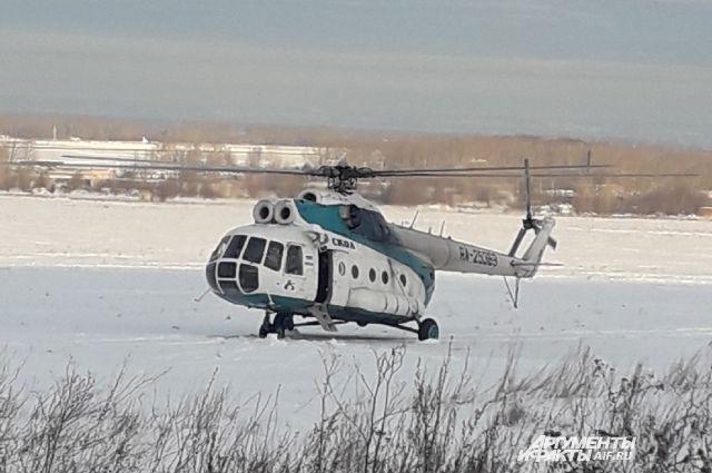 Вертолет санавиации спас жизнь сотням пациентов.