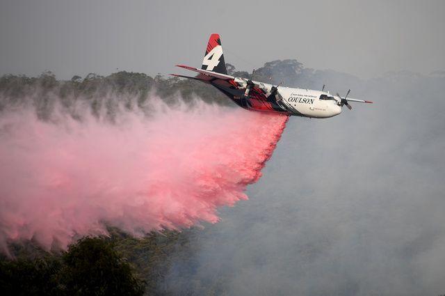Трое жителей  США погибли при крушении пожарного самолета вАвстралии