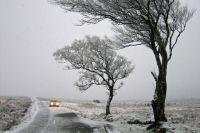 На дорогах возможен гололед и снежные заносы.