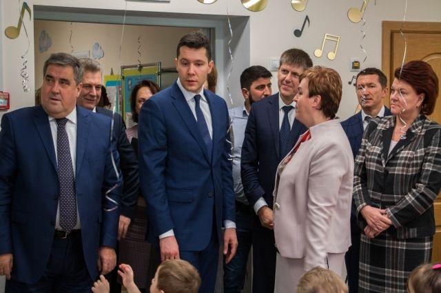 Новый корпус детского сада на ул. Павлика Морозова принял воспитанников