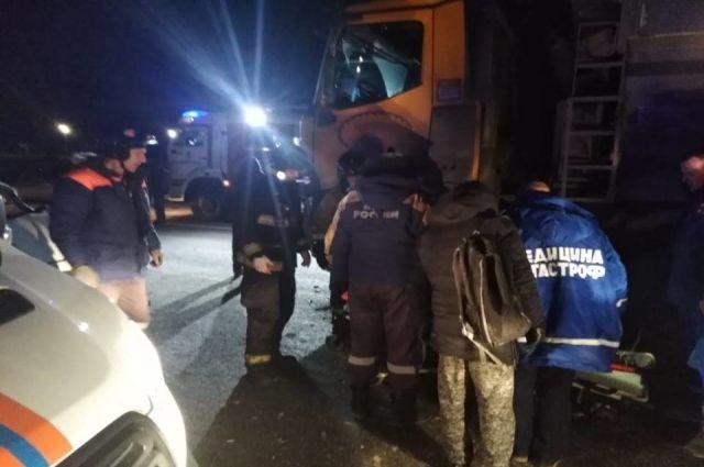 В Гурьевском районе при столкновении двух машин погибла женщина-водитель