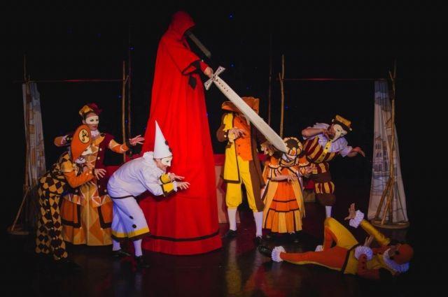 Отрывок из спектакля «Апельсиновые сказки»