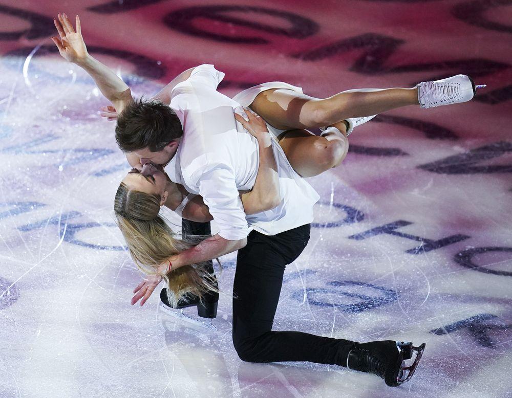 Танцы на льду: Виктория Синицина, Никита Кацалапов.