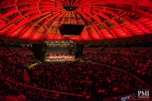 Под деревянным куполом «Тинькофф арены» можно играть без «подзвучки».