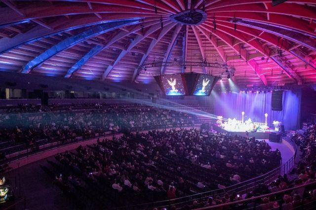 Выбор на именно эту площадку для столь важного концерта у Шнурова пал не случайно.