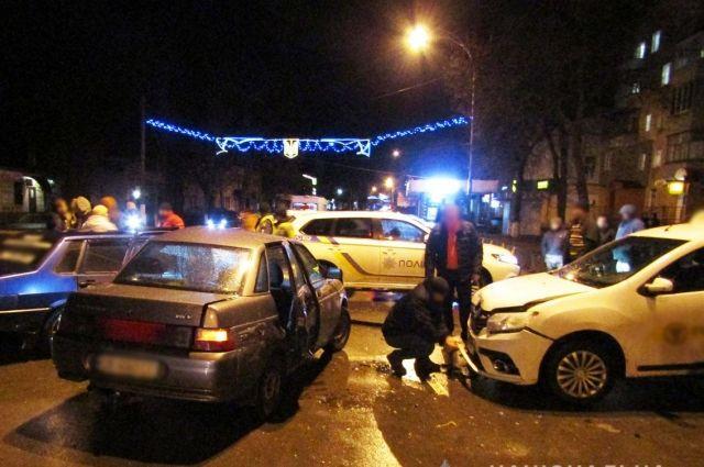 В Прилуках произошло масштабное ДТП: пострадали четыре человека