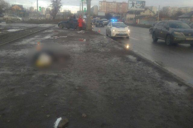 В Харькове произошло ДТП, есть жертва