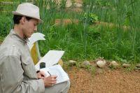 Летом в отпуске Алексей может писать целыми днями.