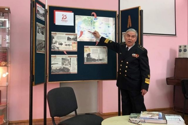 Балтийск присоединился к акции посвящённой 75-летию со дня Победы