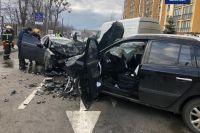 В Киевской области произошло ДТП, пострадали три человека