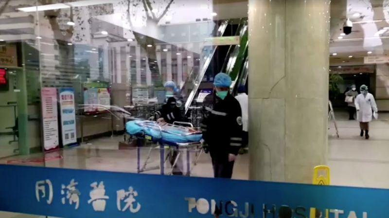 В одной из больниц в Ухане.