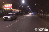 В Киевской области полицейские сбили пешехода: детали происшествия