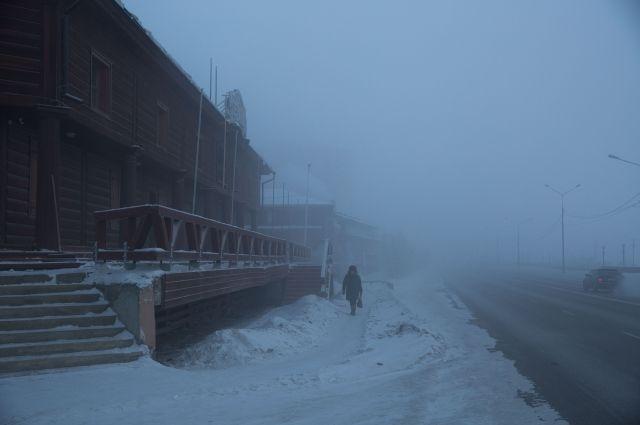 В Якутске из-за сильных морозов отменили занятия в школах