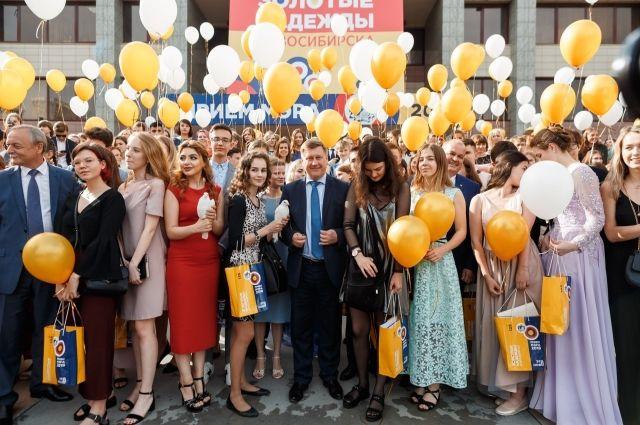 Глава пообещал, что в Новосибирске будут созданы все условия для реализации потенциала каждого студента.
