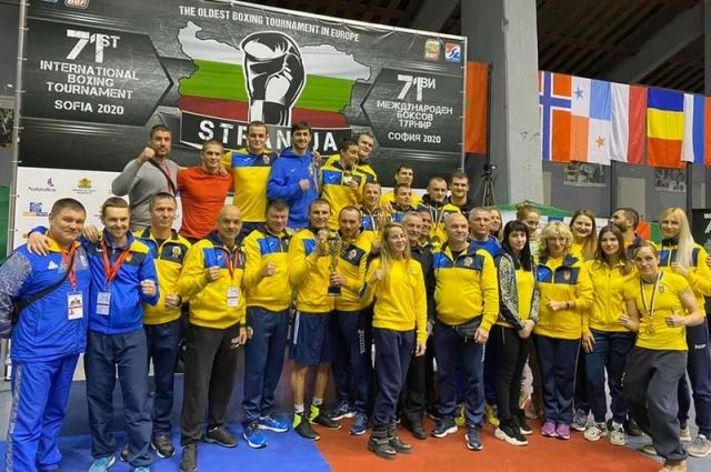 Украинская сборная заняла первое место на турнире по боксу в Болгарии