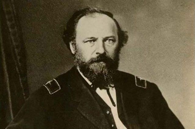 Джон Турчин в форме командира 19-го Иллинойского полка.