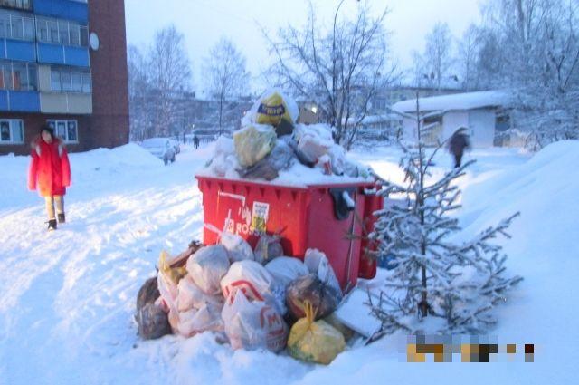 Нормативное количество образуемых твёрдых коммунальных отходов составляет 500 куб. м в сутки.