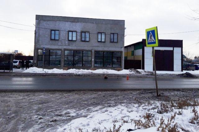 Место ДТП в Самаре: напротив дома № 3 по ул. Бубнова
