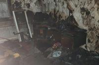Трое детей успели спастись до приезда пожарных.