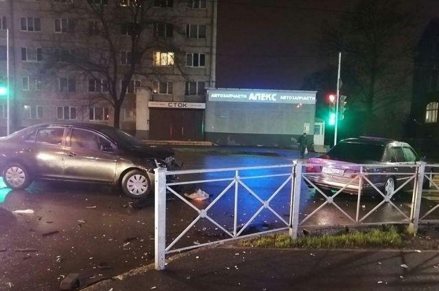 В ДТП на улице Горького пострадали два человека, в том числе ребёнок