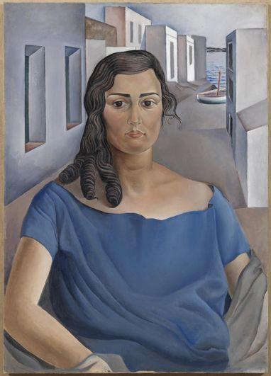 Портрет моей сестры. 1925