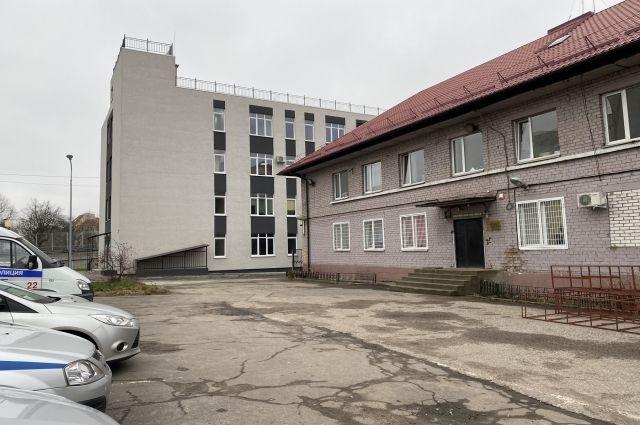 У отдела МВД по Московскому району Калининграда новый адрес