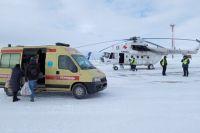 Вертолет санавиации госпитализировал двухгодовалого малыша из Абдулино в больницу Оренбурга