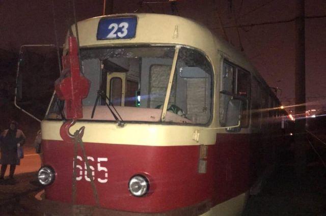 В Харькове трамвай сбил насмерть мужчину: детали происшествия