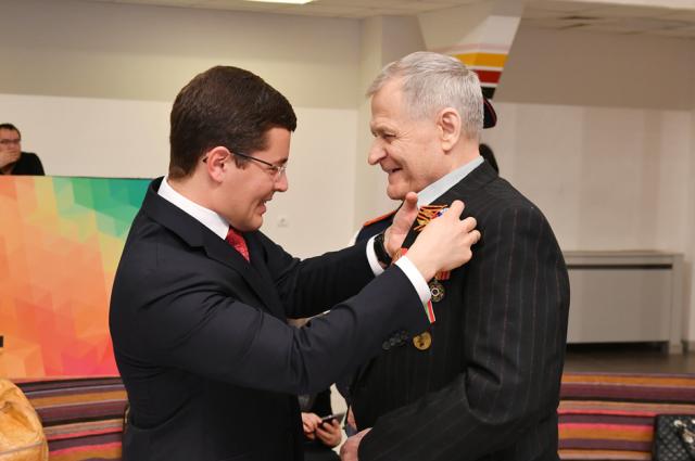 В Салехарде состоялось торжественная церемония вручения медалей ветеранам