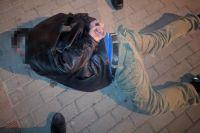 В центре Львова пьяный мужчина устроил поножовщину