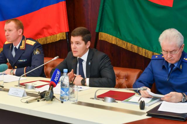 Дмитрий Артюхов принял участие в заседании коллегии СКР Ямала