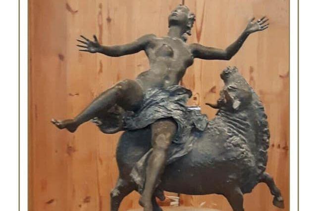 В Оренбурге уже неделю обсуждают предложение об установке в парке Железнодорожников по проспекту парковому эпатажной скульптуры «Похищение Европы».
