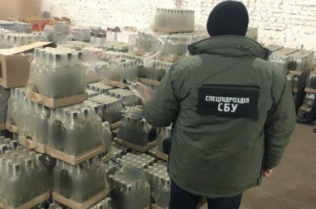 В Ровно изъяли алкосуррогата на четыре миллиона гривен