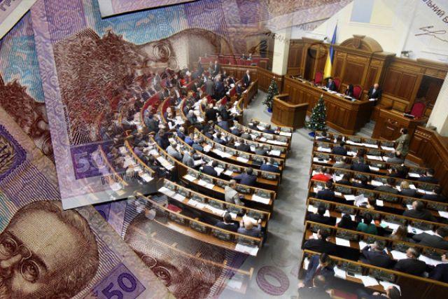 Дефицит госбюджета Украины в 2019 году составил более 78 млрд гривен