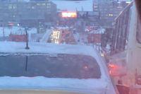 Сервис «Яндекс.Пробки» оценил дорожную ситуацию в городе на 9 баллов из 10 возможных.