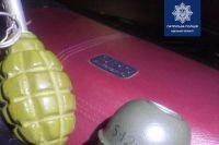 В Одессе у пьяного водителя в автомобиле обнаружили арсенал оружия