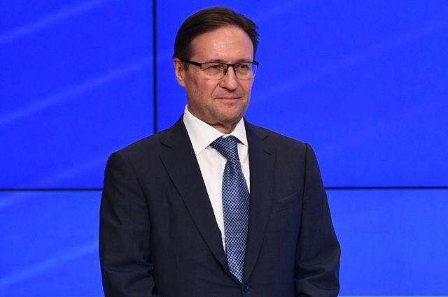 Глава Ростехнадзора Алексей Алешин.