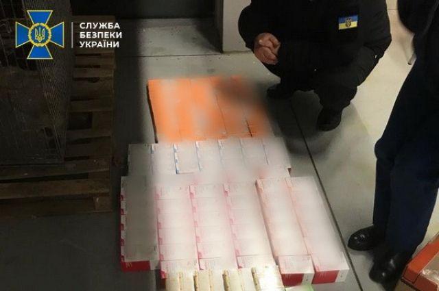 СБУ блокировала незаконный ввоз ветеринарных препаратов в Украину
