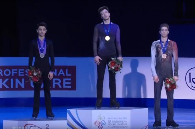 Первую золотую медаль в копилку сборной принес 20-летний Дмитрий Алиев.