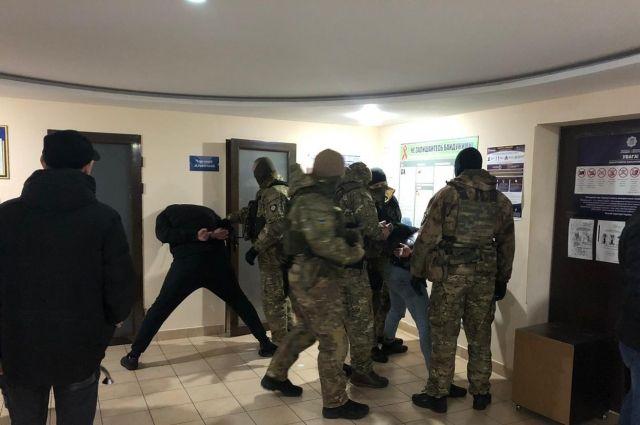 В Одессе задержали грабителей, угнавших автомобиль инкассаторов