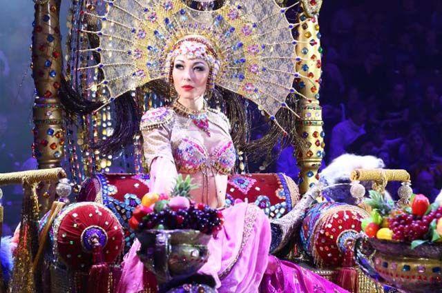 «Песчаную сказку» можно увидеть в цирке.