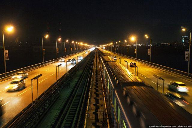 В Киеве ограничат трафик на Южном мосту