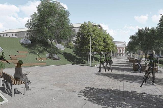 В Тюмени на месте долгостроя по улице Ленина появится парк